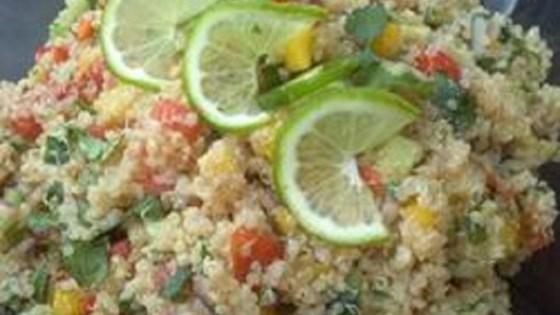 Tropical Quinoa Salsa Salad