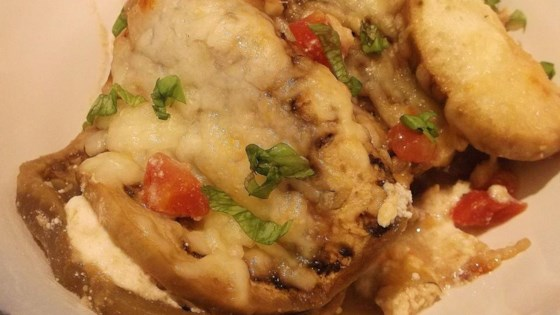 Spicy Eggplant Parmesan