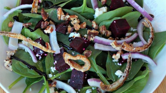 Spinach and Beet Salad