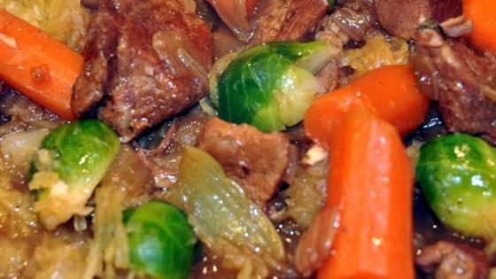 Pork and orange stew recipe