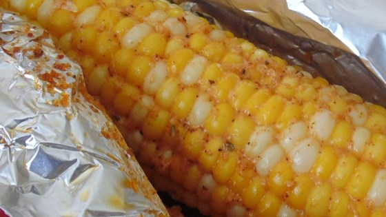 Oven Roasted Parmesan Corn on the Cob