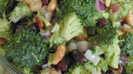 Sweet and Savory Broccoli Salad