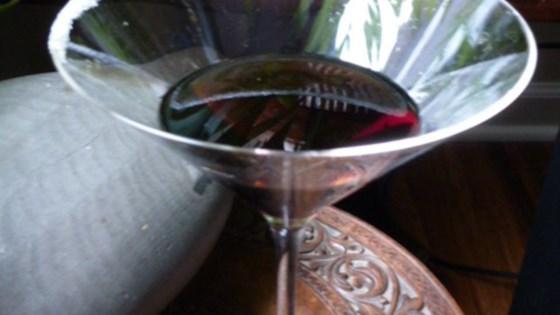 Sparkling Chocolate Martini