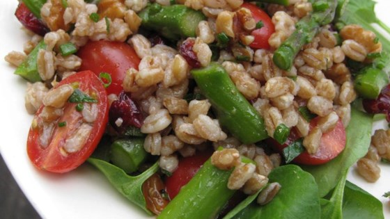 Farro Salad with Asparagus and Parmesan