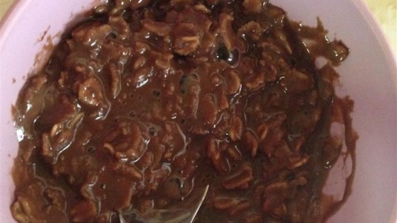 Chocolate Oatmeal Porridge