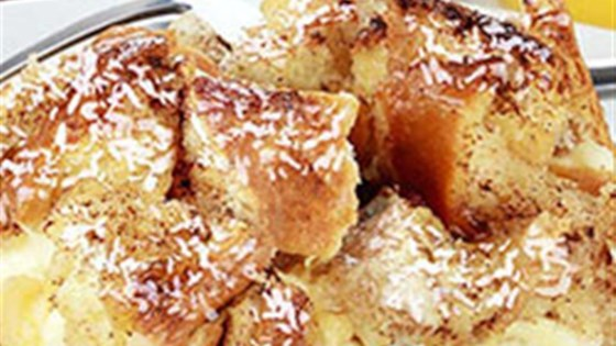Coconut Bread Pudding from Silk®