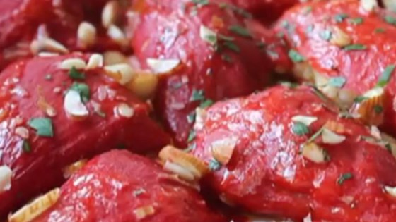 Sausage-Stuffed Piquillo Peppers