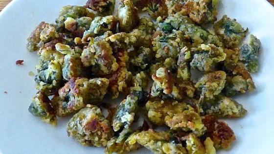 Fried Dandelions (Appalachian Style)
