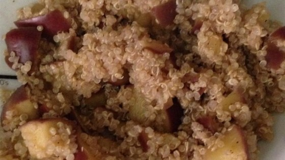 Apple Cinnamon Breakfast Quinoa Recipe - Allrecipes.com