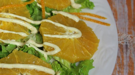Orange Salad with Cinnamon Dressing