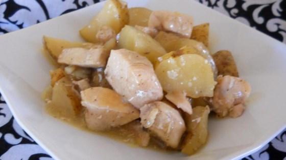 recipe: chicken and potato parcels [17]