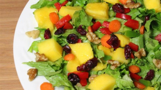 Mango Walnut Salad