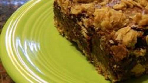 Oatmeal-Crusted Brownies