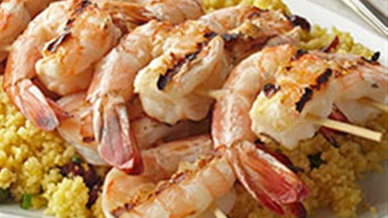 Shrimp with Fruited Couscous