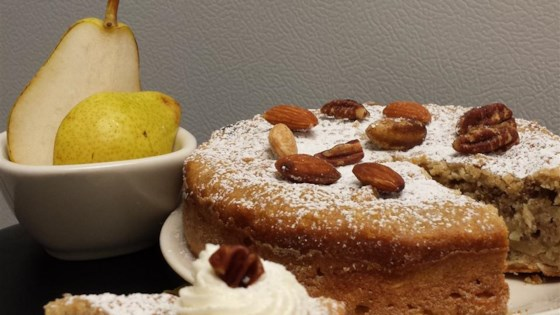 Fabulously Sweet Pear Cake