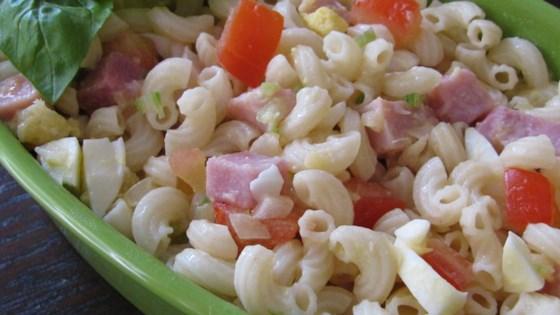 Macaroni, Pineapple, and Ham Salad