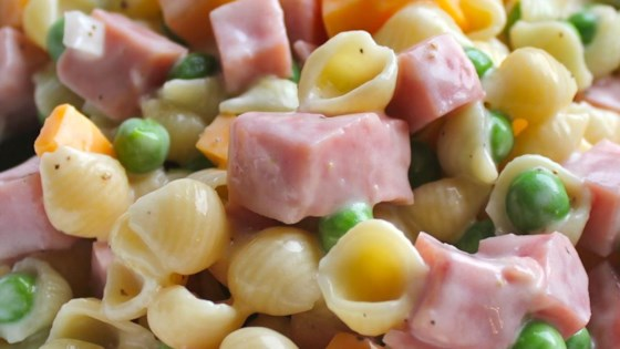 Ham and Shell Salad