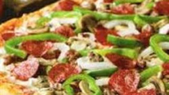 Italian Pizza Crust in Bread Machine