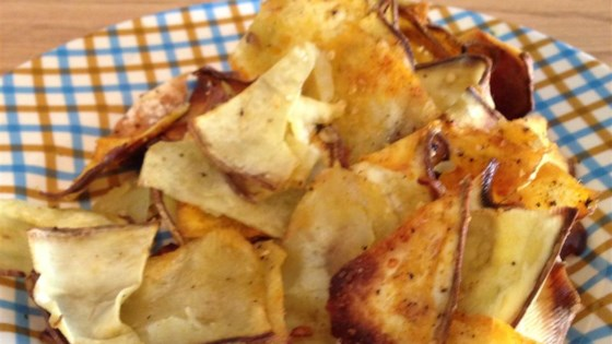 Smokey Parmesan Sweet Potato Chips