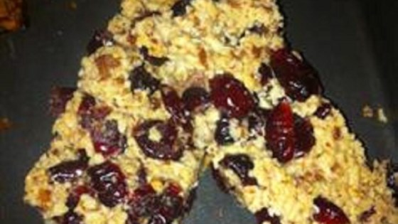 Gluten-Free Fruit and Nut Bars