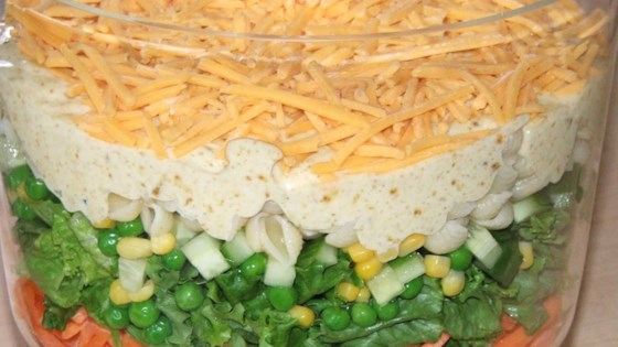 Spicy English Seven-Layer Salad