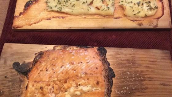 Trishie's Cedar Plank Cod