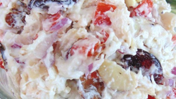 Craisin®, Almond, and Feta Chicken Salad