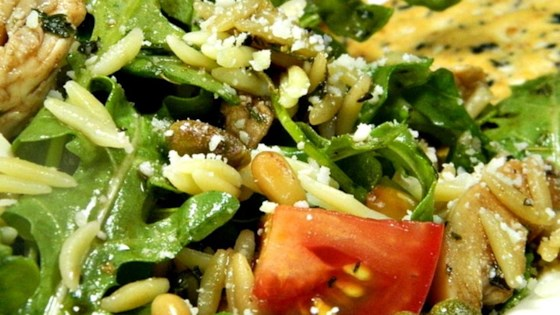 Chicken Florentine Salad with Orzo Pasta