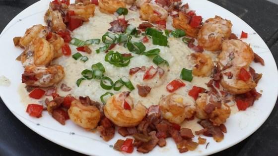 Shrimp and Grits Louisiana Style
