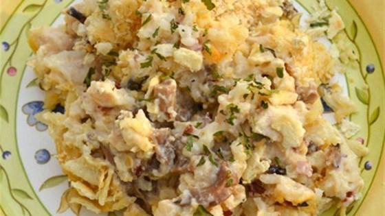 Creamy Wild Rice Chicken Casserole