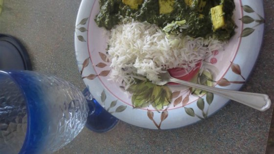 Palak Paneer (Spinach Curry)