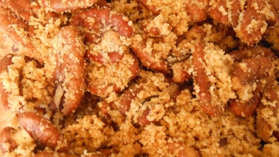 Hot and Salty Spiced Pecans