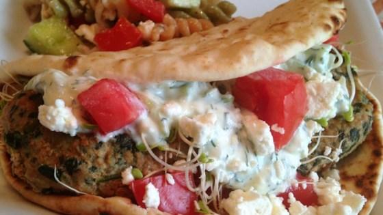 Spinach and Feta Turkey Burgers