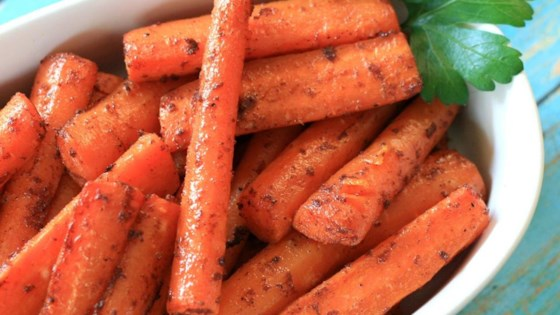 Quick and Easy Baked Carrots