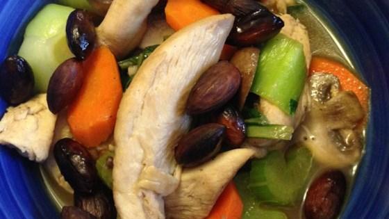 Chinese Almond Chicken Stir-Fry