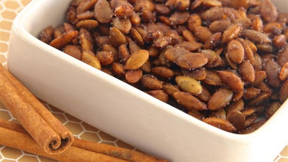 Cinnamon Toast Pumpkin Seeds