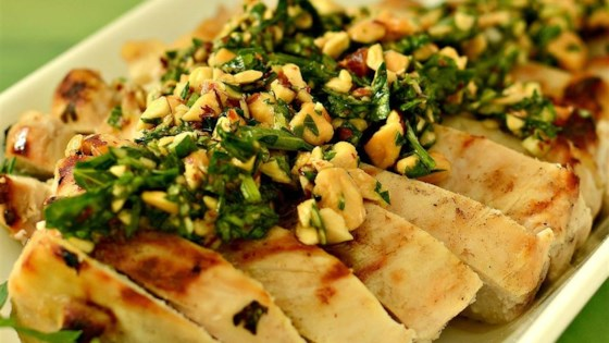Almond and Parsley Salsa Verde