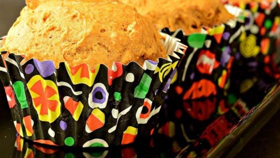 Easy Pumpkin Muffins (Low-Fat)