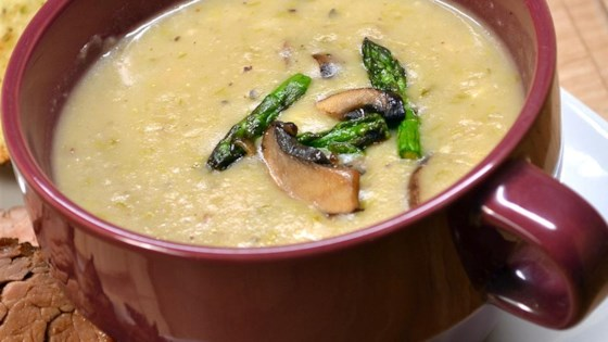Guilt-Free Cream of Asparagus Soup