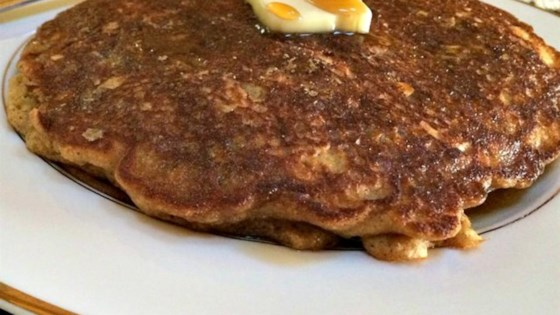 Oatmeal Raisin Cookie Pancakes Recipe - Allrecipes.com