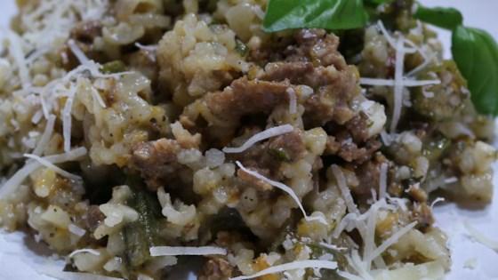 Portofino Lamb and Artichoke Risotto