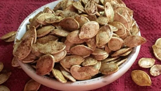 Sweet Vanilla Cinnamon Pumpkin Seeds