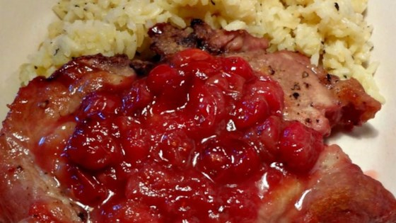 Cranberry Pork Chops II