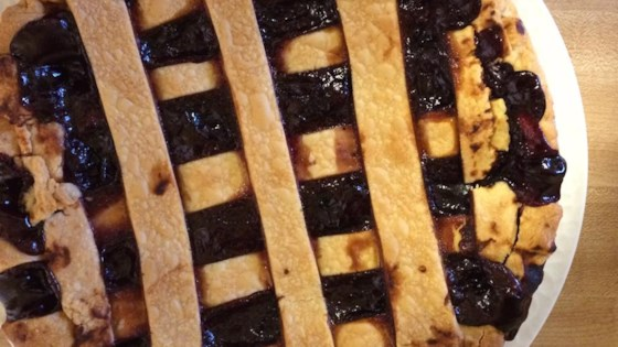 Concord Grape Pie III