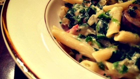 Penne with Ham and Parmesan