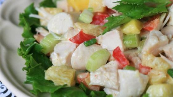 Tropical Turkey Salad