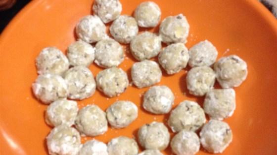 Mexican Pecan Cookies