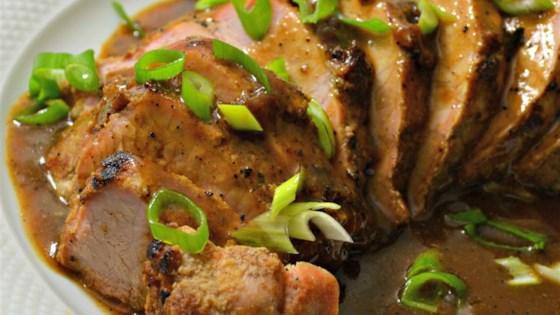 Roast Pork In Asian Brown Sauce