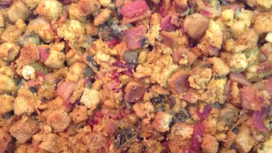 Bacon, Mushroom, and Oyster Stuffing