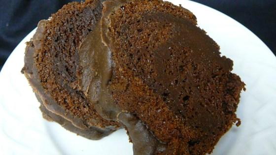 Chocolate Pudding Fudge Cake